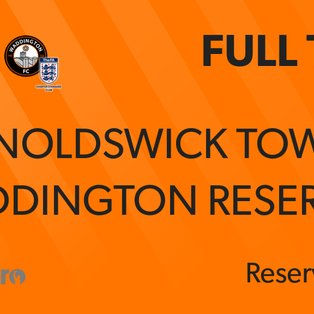 Reserves back to winning ways in Skinny Lager Cup!