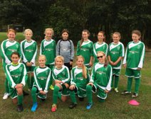Great effort from our u12 girls at the matlock festival or football