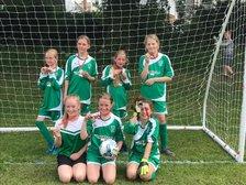 U12 Girls team are runner up and Semi Finalists at Belper Tournament
