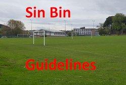 Sin Bin Coming 2019/20 Be Ready