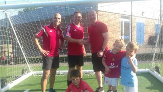 Monday Night Football Donates £170 to Wirksworth Colts