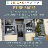 They're Back. Bricks and Mortar Reopen