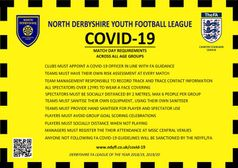 NDYFL Covid-19 Matchday Rule's 09/09/20