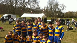 Chipstead U11's Win the cup at Old Beccs A Festival