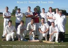 2006 - Fylde Cricket League Champions!