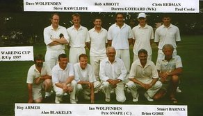 1996 - 1999 Wyre CC at Myerscough