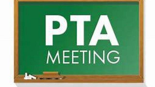 PTA AGM - Tuesday 29 Sept 2020