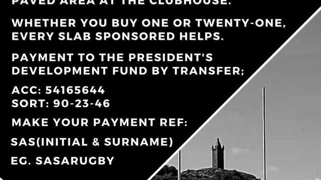 Sponsor A Slab (SAS) Appeal - Target almost reached !