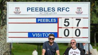 Peebles RFC v Carrick RFC