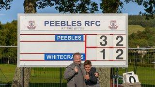 Peebles RFC v Whitecraigs RFC (32-12)