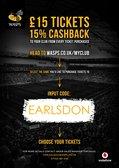 EARLSDON RFC WASPS CASH BACK OFFER
