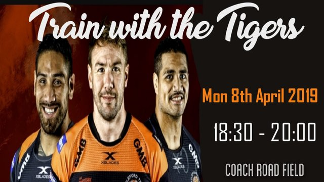 Training with the Tigers