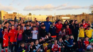 Abergavenny Rhinos Barcelona masterclass with ex player Juanjo