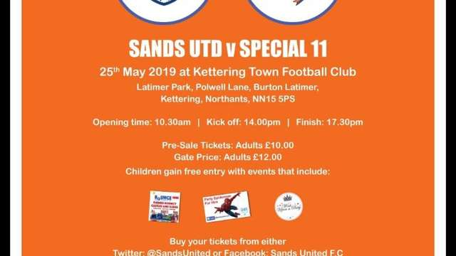 Family Fun Day and Charity Game vs Special 11