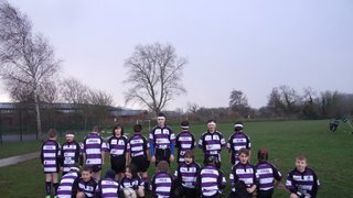Tiverton v Exmouth U11's 27th Jan