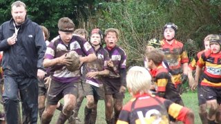 Honiton vs Exmouth u12's 20/10/13