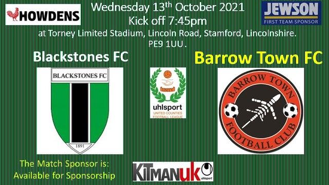 2021-10-13 - Blackstones FC vs Barrow Town FC