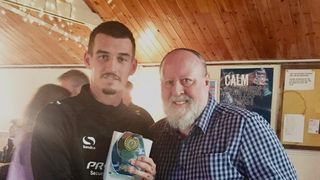 Man of the Match Award v St Helens Town