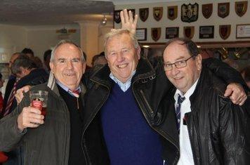 3 elder statesmen, combined age 250.