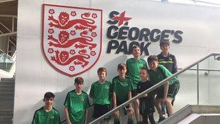 U15's play Futsal at St Georges Park