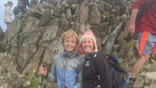 Alfie climbs Snowdon to raise funds for club!