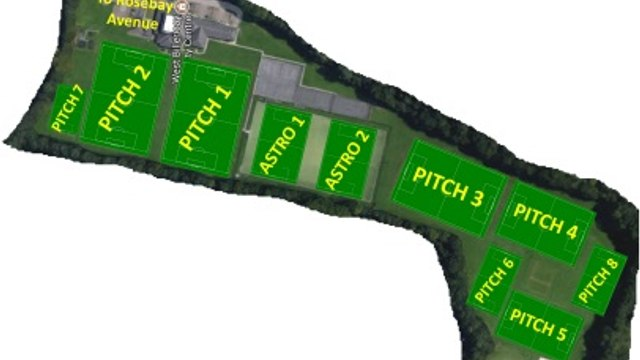 Junior Section Pitch Bookings - see here for latest allocations