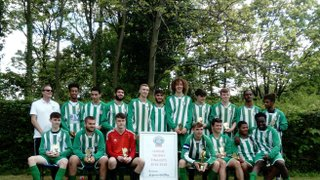 Our U18s are HYFL Trophy Competition (Under 17/18) Winners!!