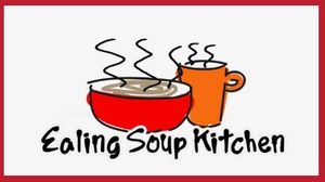 Collecting Donations for Ealing Soup Kitchen