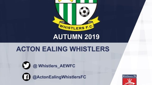 AEWFC Received Middlesex FA Road to Respect Award (Autumn 2019)