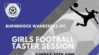 BWJFC Girls Football Taster Session