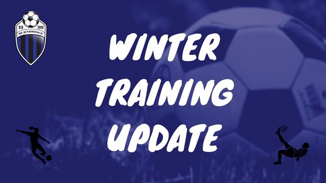 Winter Training Update