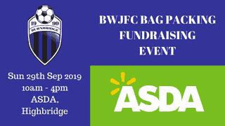 ASDA Bag Pack Sep 2019