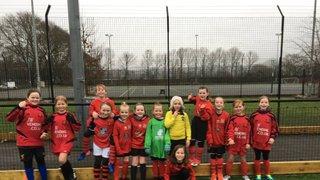 Clevedon Utd Girls U8 & U9 squads Sat 27/1/18