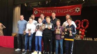 Clevedon Utd JFC 30th anniversary presentation day - 12th May 2019