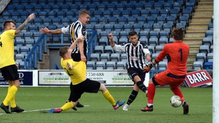 Hat-trick for Adamson as Rovers Progress