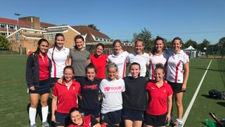 Ladies 1st XI held on tight for the draw!