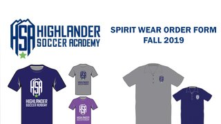 Spirit Wear Now Available!