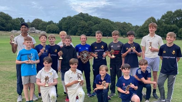 Celebrating a fantastic summer of junior cricket