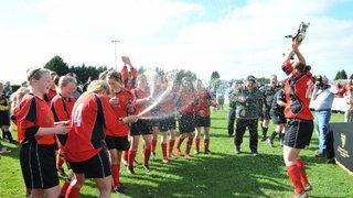 Callington Ladies Crowned County Cup Winners