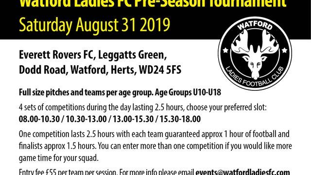 Pre-Season Tournament 2019-20