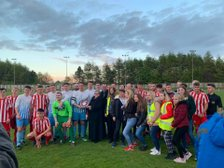 A Great Evening at the Bob Stokoe Shield Annual Charity Match