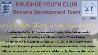 Prudhoe Youth Club Seniors Development Team