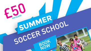 Book Now for Summer Soccer School