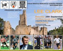 NEWCASTLE LEGEND LEE CLARK IS COMING TO TOWN