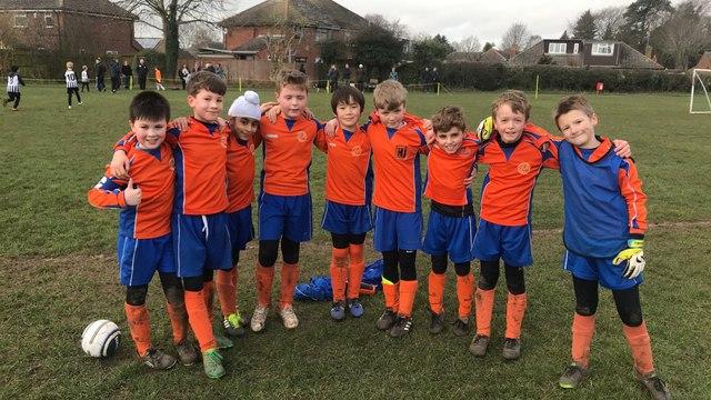 Harbury Jets Under 9's v Lillington Juniors U9's