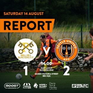 Report: Mill Hill St Peters 1 United 2