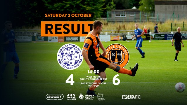 Report: Morley Town 4 United 6