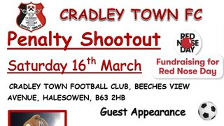 PENALTY SHOOTOUT - COMIC RELIEF ' RED NOSE DAY' EVENT  - 16TH MARCH