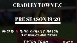 UPDATED PRE SEASON FIXTURES