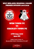 """THE HAMMERS"" TRAVEL THIS WEEKEND TO WEM TOWN FC"